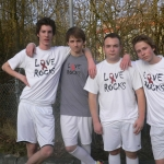 Love Rocks Team spielt Mini World Cup